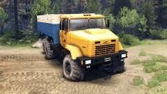 KRAZ-6446 für Spin Tires