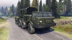ZIL-135LM (P) pour Spin Tires