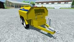 Remorque-citerne Chef pour Farming Simulator 2013