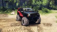 Jeep Cherokee XJ v1.3 Rough Country red clean pour Spin Tires