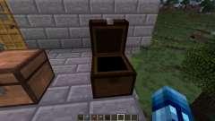 Truhen der verschiedenen Arten von Holz