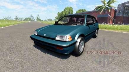 Honda Civic Si 1986 für BeamNG Drive