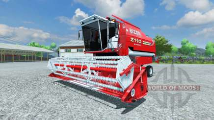 Bizon Z 110 red für Farming Simulator 2013