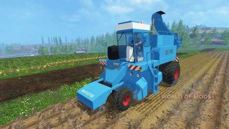 Zucker Rübenroder KS-6B reinigen für Farming Simulator 2015