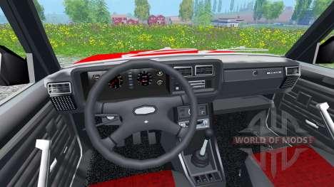 VAZ-2107 pour Farming Simulator 2015