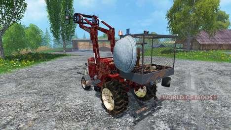 Hoftraktor HT13E FL dirt pour Farming Simulator 2015