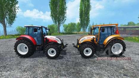 Steyr Multi 4115 für Farming Simulator 2015