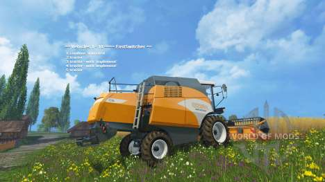 Fast Switcher pour Farming Simulator 2015
