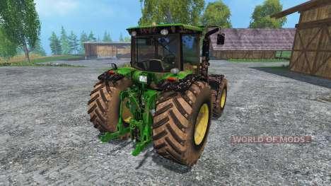 John Deere 7930 dirt pour Farming Simulator 2015