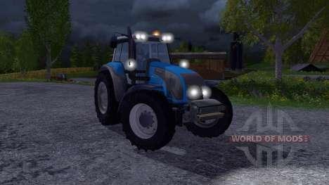 Valtra T140 Blue für Farming Simulator 2015