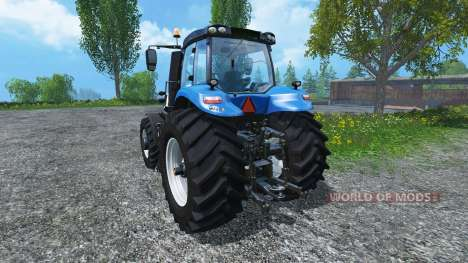 New Holland T8.390 Ultra White 2011 v2.0 für Farming Simulator 2015