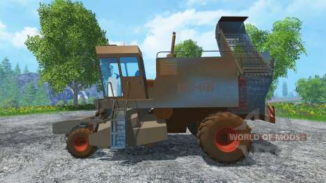 Betteraves sucrières KS-6B de la saleté pour Farming Simulator 2015