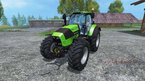 Deutz-Fahr Agratron 7250 TTV pour Farming Simulator 2015