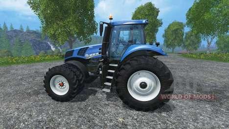 New Holland T8.320 dualrow für Farming Simulator 2015