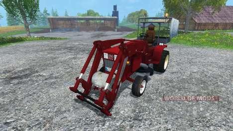 Hoftraktor HT13E FL clean für Farming Simulator 2015