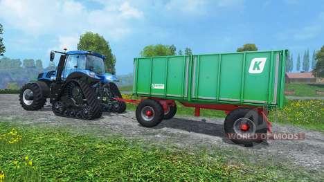 Case Trailer Attacher v3.0 pour Farming Simulator 2015