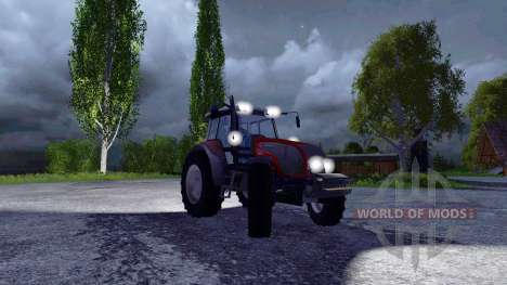 Valtra T140 Red für Farming Simulator 2015