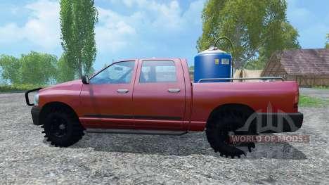 Dodge Ram Service für Farming Simulator 2015