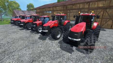 Die Geräusche der Motoren von Traktoren Case IH  für Farming Simulator 2015