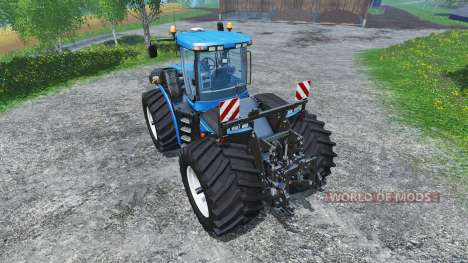 New Holland T9.560 wide tires für Farming Simulator 2015