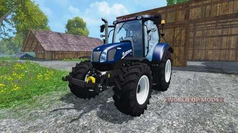 New Holland T6.160 Blue Power v1.1 pour Farming Simulator 2015
