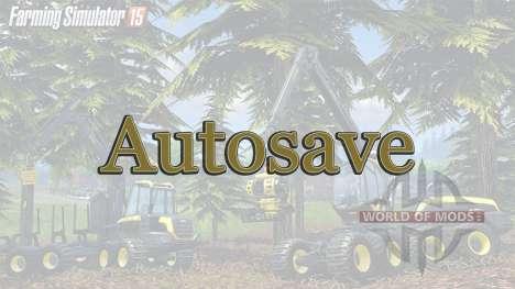 AutoSpeichern für Farming Simulator 2015