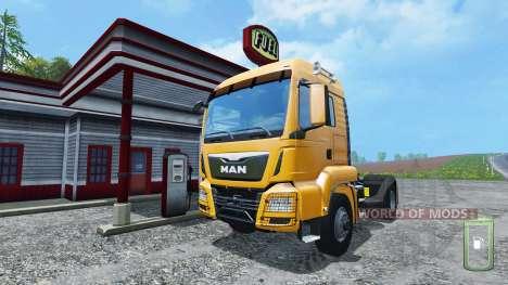Manuelle Kraftstoffpumpe für Farming Simulator 2015