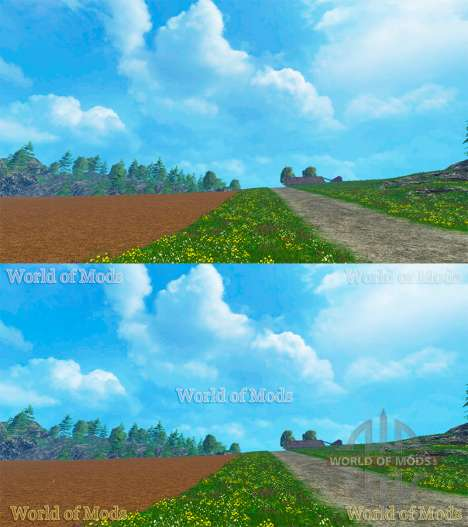 En filigrane pour Farming Simulator 2015