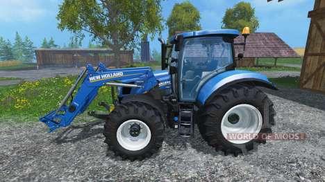 New Holland T6.160 pour Farming Simulator 2015