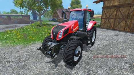 New Holland T8.485 2014 Red Power Plus v1.2 pour Farming Simulator 2015