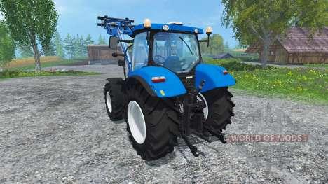 New Holland T6.160 Ohne Glanz für Farming Simulator 2015