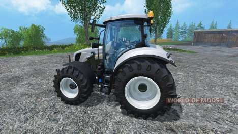 New Holland T6.160 increased tires pour Farming Simulator 2015
