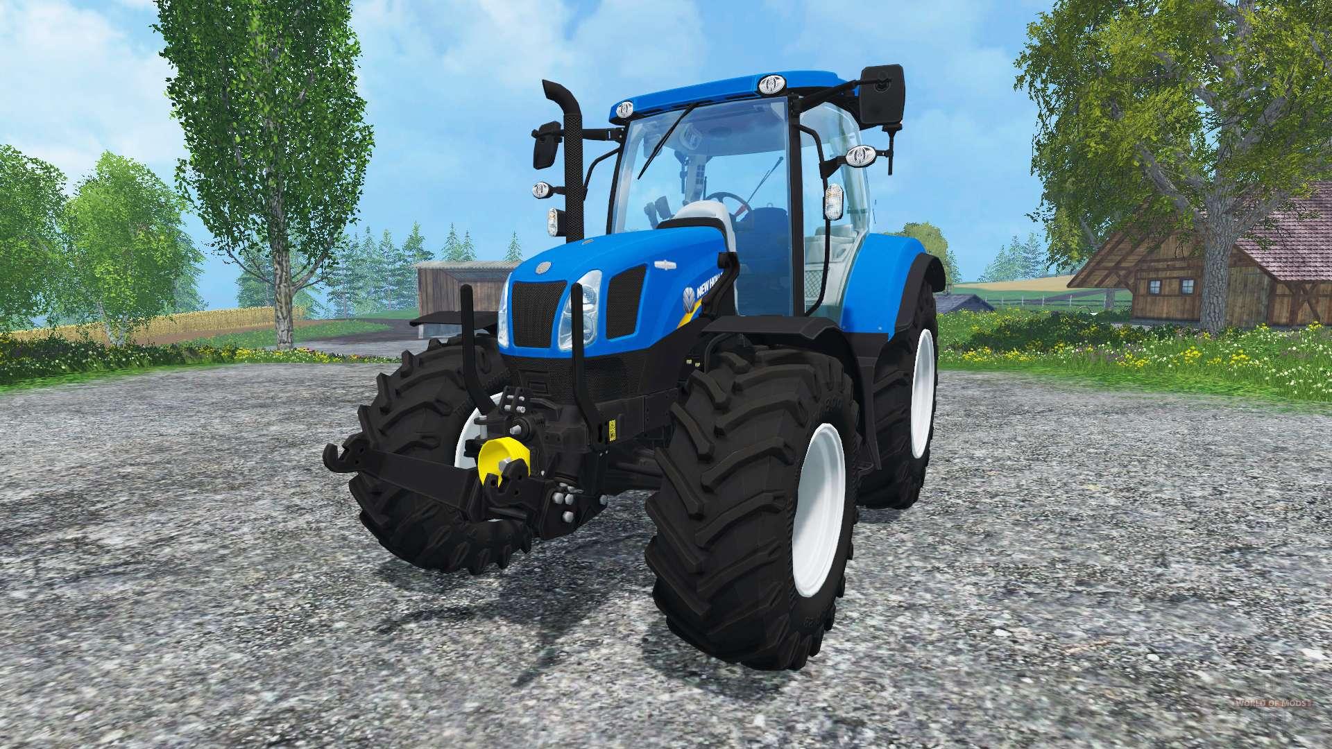 new holland ohne glanz pour farming simulator 2015. Black Bedroom Furniture Sets. Home Design Ideas