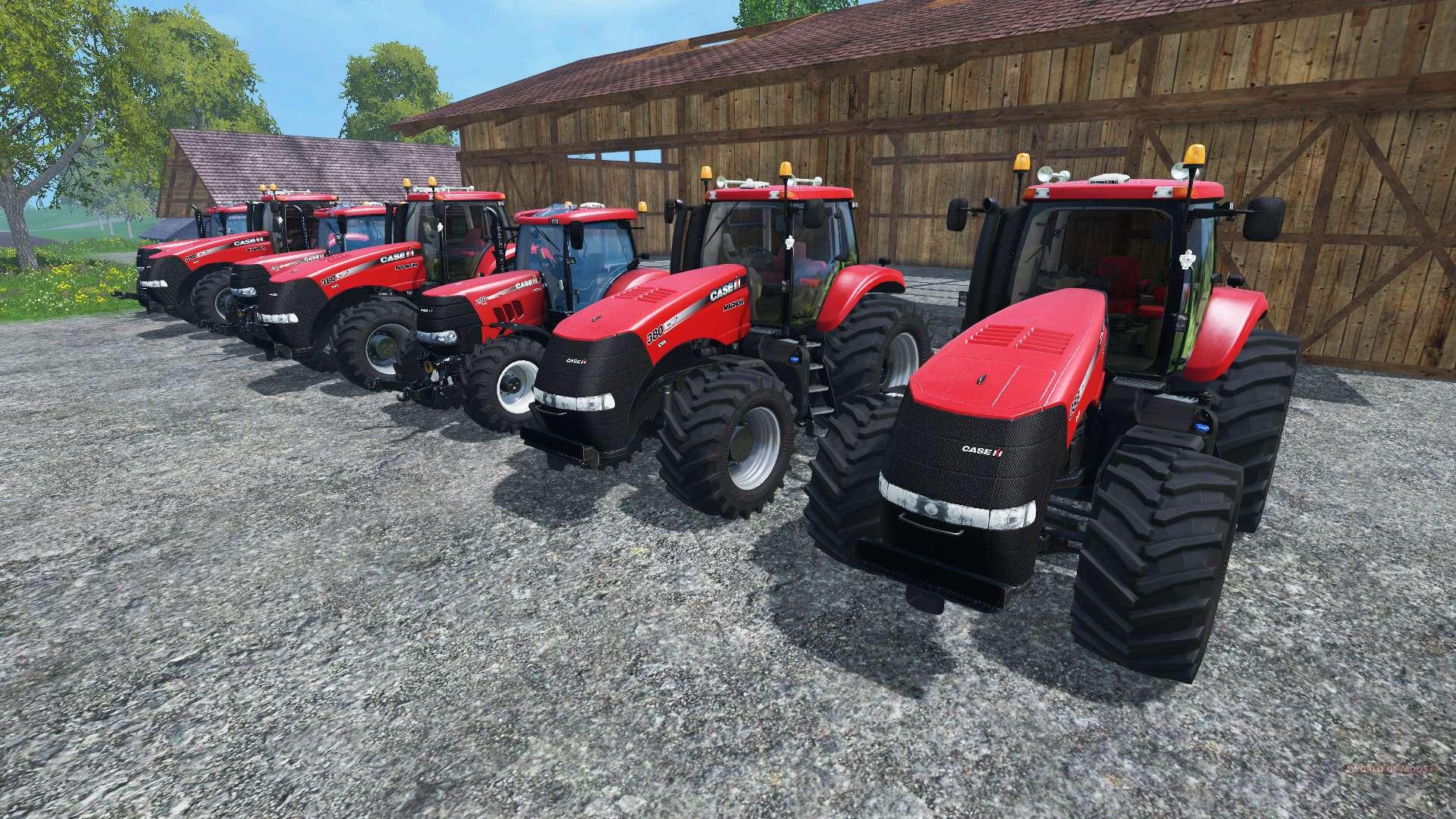 les bruits de moteurs de tracteurs case ih magnum pour farming simulator 2015. Black Bedroom Furniture Sets. Home Design Ideas