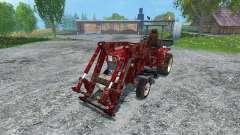 Hoftraktor HT13E FL dirt
