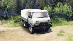 UAZ-3909 6x6 für Spin Tires