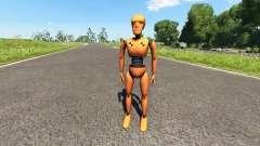 Le mannequin de crash-tests pour BeamNG Drive