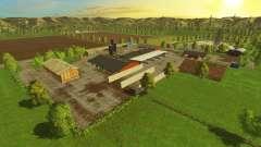 Emplacement-Village- pour Farming Simulator 2015