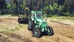 Traktor T-IM v1.1 grün für Spin Tires