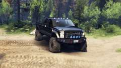 Ford F-350 Super Duty 6.8 2008 v0.1.0 black für Spin Tires