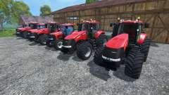Les bruits de moteurs de tracteurs case IH Magnu