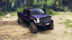 Ford F-350 Super Duty 6.8 2008 v0.1.0 purple für Spin Tires