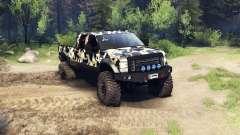 Ford F-350 Super Duty 6.8 2008 v0.1.0 camo2 für Spin Tires