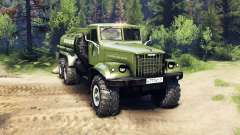 KrAZ-255B AC 8.5 Inflammable v2.7 pour Spin Tires