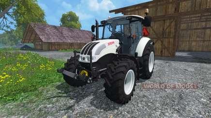 Steyr Multi 4115 Ecotronik v2.0 Universal für Farming Simulator 2015