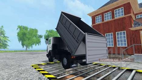 MAZ UN pour Farming Simulator 2015