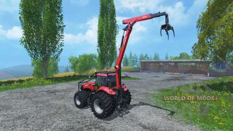 Case IH Magnum CVX 380 Forst v3.1 pour Farming Simulator 2015