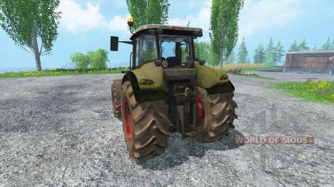 CLAAS Axion 820 v4.0 dirt für Farming Simulator 2015