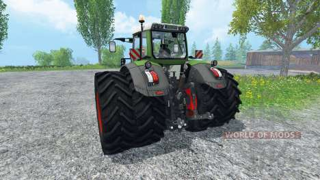 Fendt 828 Vario Twin Wheels für Farming Simulator 2015