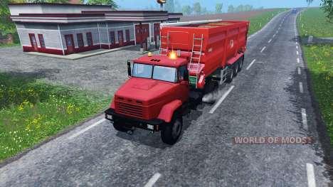 Kraz 5133 pour Farming Simulator 2015